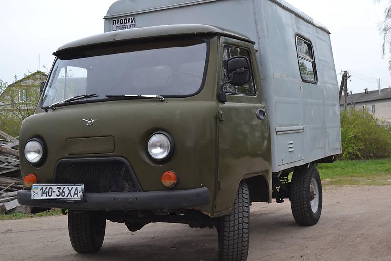 УАЗ 452 пасс. 1989 года