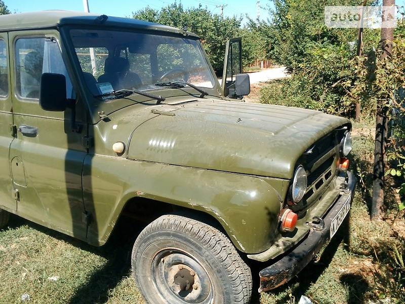 УАЗ военный 1975 года
