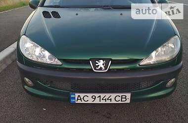 Характеристики Peugeot 206 SW Унiверсал