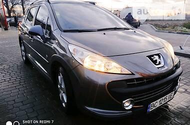Характеристики Peugeot 207 Универсал