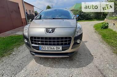 Характеристики Peugeot 3008 Универсал