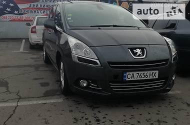 Характеристики Peugeot 5008 Универсал
