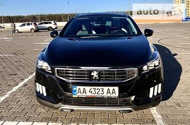 Характеристики Peugeot 508 RXH Универсал