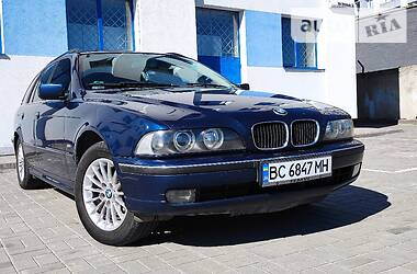 Характеристики BMW 520 Унiверсал