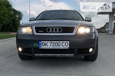 Характеристики Audi Allroad Унiверсал