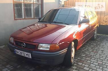Характеристики Opel Astra F Унiверсал