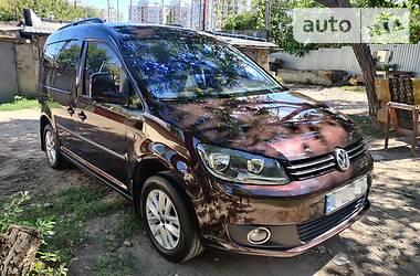 Характеристики Volkswagen Caddy пасс. Универсал