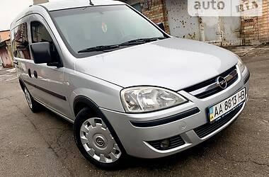 Характеристики Opel Combo пасс. Унiверсал
