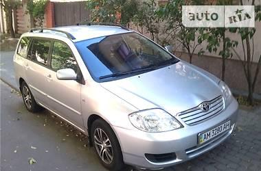 Характеристики Toyota Corolla Универсал