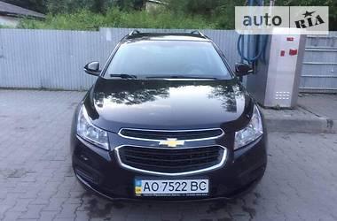 Характеристики Chevrolet Cruze Универсал