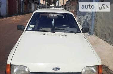 Характеристики Ford Escort Универсал