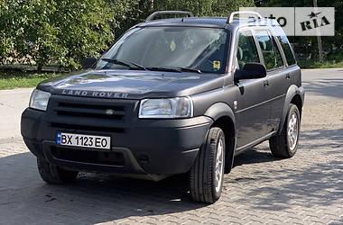 Характеристики Land Rover Freelander Универсал