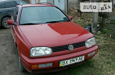 Характеристики Volkswagen Golf III Унiверсал