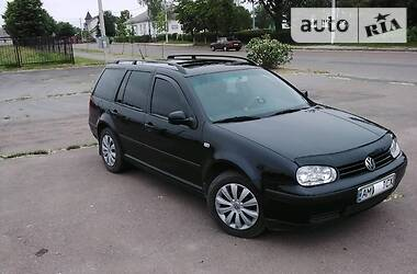 Характеристики Volkswagen Golf IV Универсал