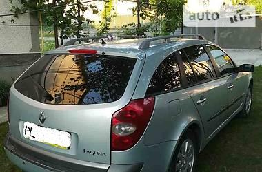 Характеристики Renault Laguna Универсал