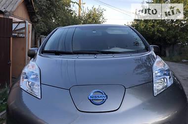 Характеристики Nissan Leaf Универсал