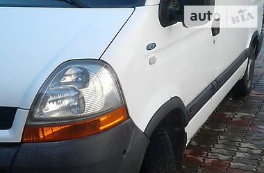 Характеристики Renault Master пасс. Универсал