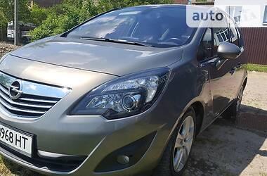 Характеристики Opel Meriva Универсал