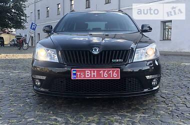Характеристики Skoda Octavia RS Унiверсал