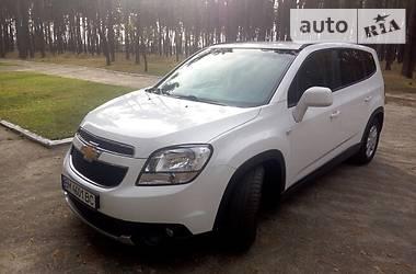Характеристики Chevrolet Orlando Универсал