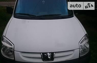 Характеристики Peugeot Partner пасс. Универсал