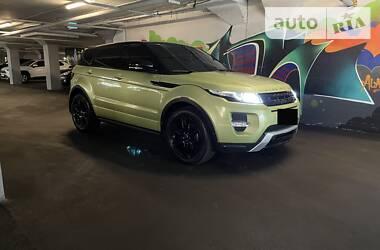Характеристики Land Rover Range Rover Evoque Универсал