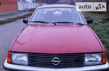 Характеристики Opel Rekord Универсал