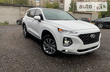 Характеристики Hyundai Santa FE Универсал