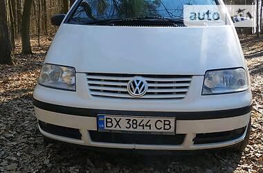 Характеристики Volkswagen Sharan Унiверсал