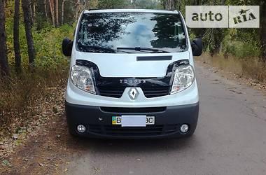 Характеристики Renault Trafic пасс. Универсал