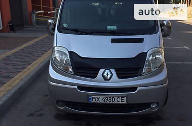 Характеристики Renault Trafic пасс. Унiверсал