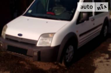Характеристики Ford Transit Connect пасс. Унiверсал