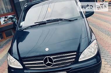 Характеристики Mercedes-Benz Vito груз. Универсал