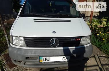 Характеристики Mercedes-Benz Vito пасс. Универсал
