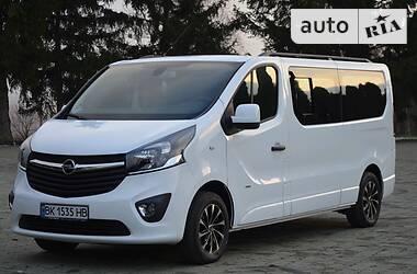 Характеристики Opel Vivaro пасс. Универсал