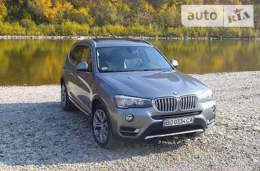 Характеристики BMW X3 Универсал