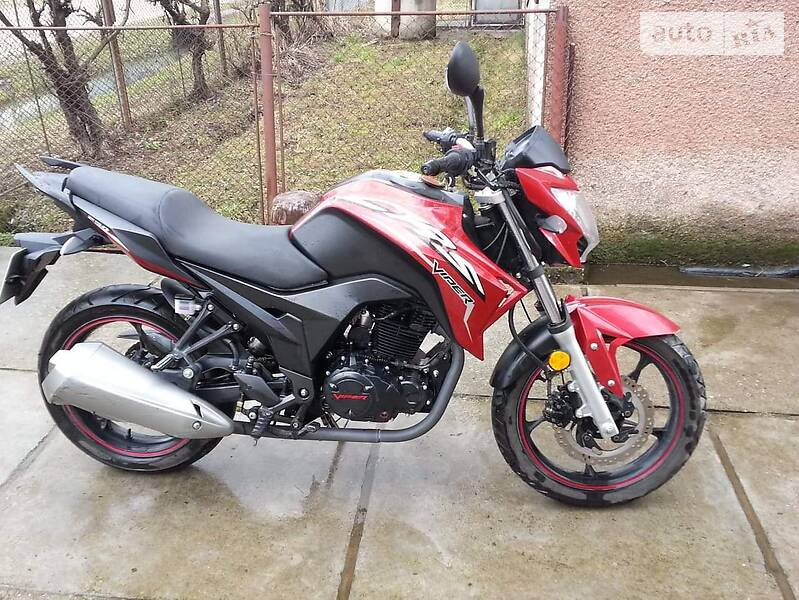 Мотоцикл Спорт-туризм Viper V 250-CR5