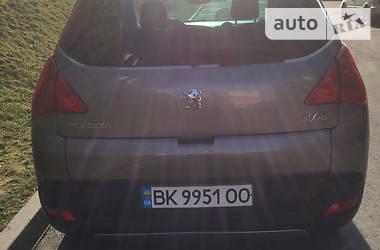 Характеристики Peugeot 3008 Внедорожник / Кроссовер