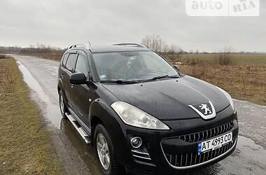 Характеристики Peugeot 4007 Внедорожник / Кроссовер