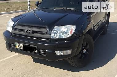 Характеристики Toyota 4Runner Внедорожник / Кроссовер