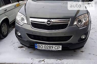 Характеристики Opel Antara Внедорожник / Кроссовер
