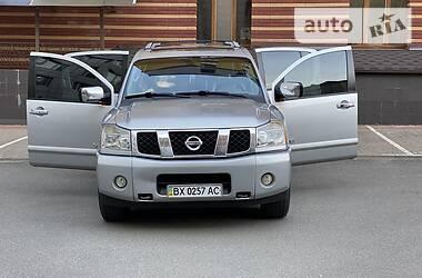 Характеристики Nissan Armada Внедорожник / Кроссовер
