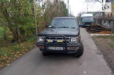 Характеристики Chevrolet Blazer Внедорожник / Кроссовер