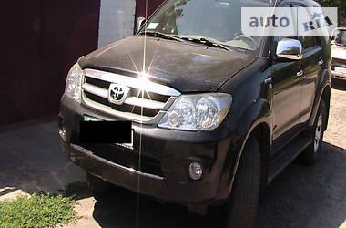Характеристики Toyota Fortuner Внедорожник / Кроссовер