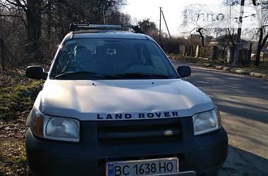Характеристики Land Rover Freelander Внедорожник / Кроссовер