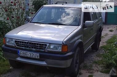 Характеристики Opel Frontera Внедорожник / Кроссовер