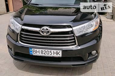 Характеристики Toyota Highlander Внедорожник / Кроссовер