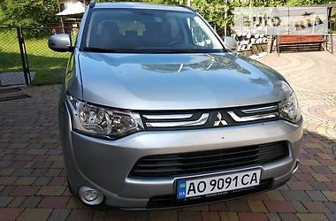 Характеристики Mitsubishi Outlander Внедорожник / Кроссовер