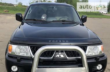 Характеристики Mitsubishi Pajero Sport Внедорожник / Кроссовер