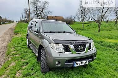 Характеристики Nissan Pathfinder Позашляховик / Кросовер